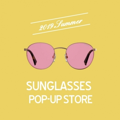 SUNGLASSES POP-UP STORE開催中です