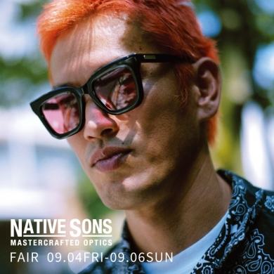 NATIVE SONS  Pop up store !!   9/4~