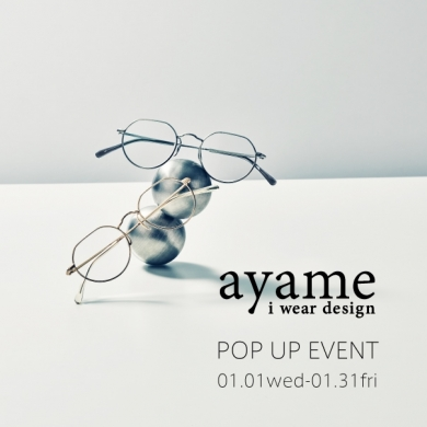 『ayame』 POP UP EVENT in Pokerface浦添パルコシティ店