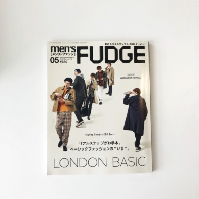 men's FADGE vol.112 掲載!