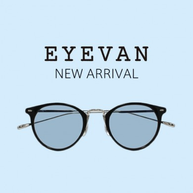 EYEVANの「Bright Color Collection」が入荷!